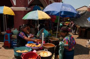 Santa Maria de Jesus market, Guatemala by Sergio Pitamitz