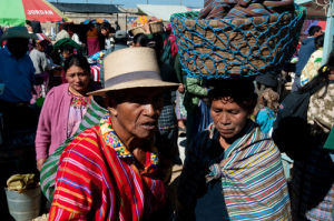 Animal market, San Francisco El Alto, Guatemala by Sergio Pitamitz