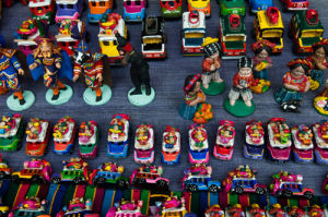 Souvenirs, Chichicastenango, Guatemala by Sergio Pitamitz