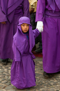 Holy Week Procession, Antigua, Guatemala by Sergio Pitamitz