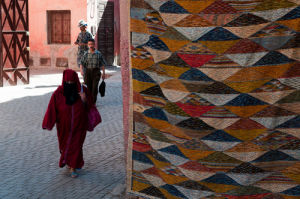 Medina, Carpet Souk, Marrakech, Morocco by Sergio Pitamitz