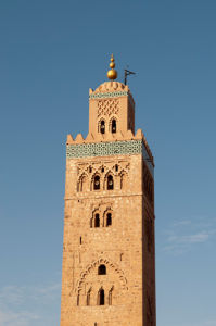 Koutoubia Mosque, Marrakech, Morocco by Sergio Pitamitz