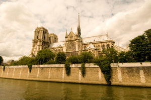 Notre Dame Cathedral, Paris, France by Sergio Pitamitz
