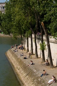 Ile Saint-Louis, Paris, France by Sergio Pitamitz