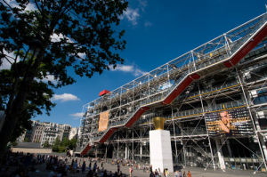 Centre Pompidou, Paris, France by Sergio Pitamitz