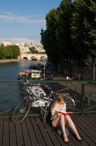 Pont des Arts, Paris, France by Sergio Pitamitz
