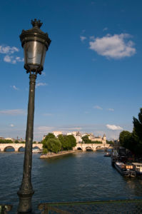 River Seine and Ile de la Cite, Paris, France by Sergio Pitamitz