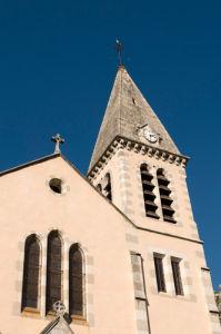Castellane church, Provence, France by Sergio Pitamitz