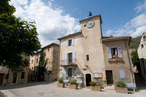 Rougon Town Hall, Gorges du Verdon, Provence, France by Sergio Pitamitz