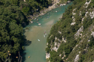 Verdon river, Gorges du Verdon, Provence, France by Sergio Pitamitz