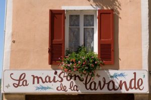 Maison de la Lavande, Place du Couwert, Moustiers-Sainte-Marie, Provence, France by Sergio Pitamitz