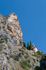 Notre Dame de Beauvoir chapel, Moustiers-Sainte-Marie, Provence, France by Sergio Pitamitz
