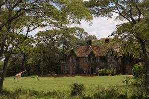 Giraffe Manor, Nairobi, Kenya by Sergio Pitamitz