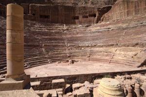 Nabatean Theatre, Petra, Jordan by Sergio Pitamitz