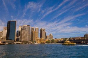 Circular Quai, Sydney, New South Wales, Australia by Sergio Pitamitz
