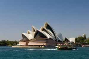 Opera House, Sydney, New South Wales, Australia by Sergio Pitamitz