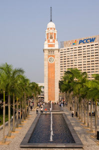 Clock Tower, Tsim Sha Tsui District, Kowloon, Hong Kong, China by Sergio Pitamitz