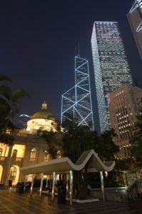 Statue Square, Central District, Hong Kong, China by Sergio Pitamitz