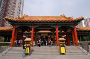 Wong Tai Sin Temple, Kowloon, Hong Kong, China by Sergio Pitamitz