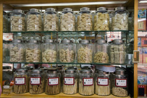 Traditional chinese medicine, Sheung Wan District, Hong Kong, China by Sergio Pitamitz
