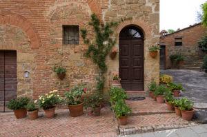 Monticchiello, Val d'Orcia, Siena province, Tuscany, Italy by Sergio Pitamitz