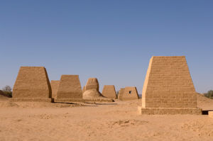 The Tombs of Garamantes, Jarma (Germa), Fezzan, Libya by Sergio Pitamitz