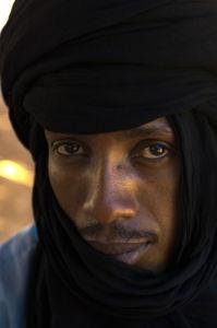 Tuareg, Gabroun, Erg Awbari, Sahara desert, Fezzan, Libya by Sergio Pitamitz