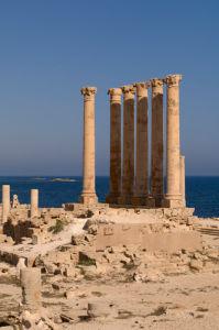 Sabratha Roman site, Tripolitania, Libya by Sergio Pitamitz