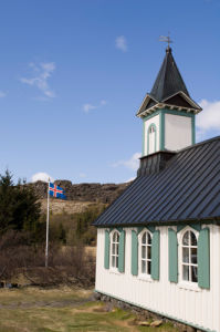 Church, Thingvellir National Park, Iceland by Sergio Pitamitz