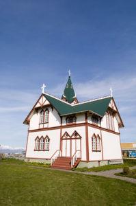 Husavik church, Iceland by Sergio Pitamitz