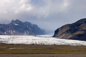 Vatnajokull glacier, Skaftafell National Park, South coast, Iceland by Sergio Pitamitz