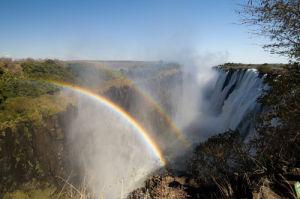 Victoria Falls, Zambesi River, Zambia by Sergio Pitamitz