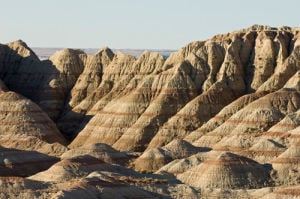 Badlands National Park, South Dakota, USA by Sergio Pitamitz