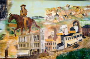 Mural, Sheridan, Wyoming, USA by Sergio Pitamitz