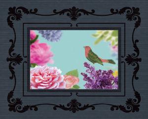 Rococo Birds II by Maria Mendez