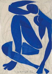 Nu Bleu IV by Henri Matisse