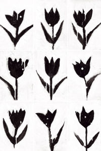 Tulip Noir Composite by Lilian Scott