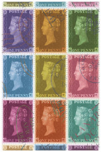 Stamp Collection by The Vintage Collection