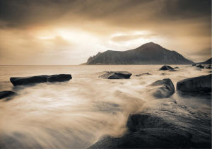 Sepia Sea, Lofoten Islands by Andreas Stridsberg