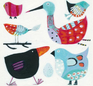Feathered Friends by Anne Davies