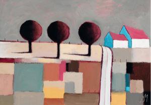 Field End Lane by Derek Melville
