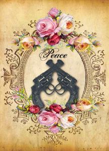Guns & Roses by Dollface Design