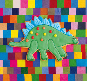 Stiggle Stegosaurus by Howard Shooter and Lauren Floodgate