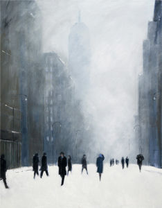 Blizzard - 5th Avenue by Jon Barker