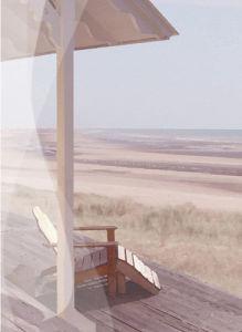 Hamptons I by Malcolm Sanders