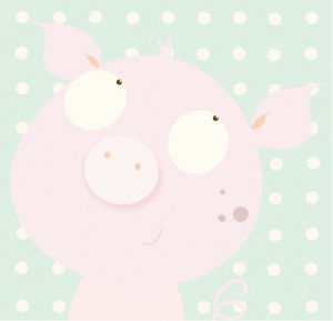 Pinky Piggy by Nicola Evans