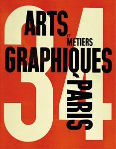 Arts et Métiers Graphiques Paris 34 by A.M. Cassandre