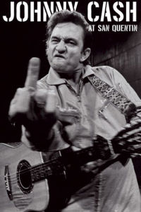 Johnny Cash - San Quentin Portrait by Anonymous