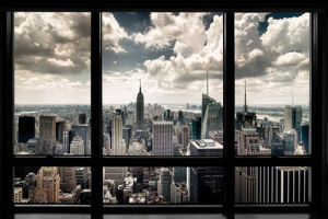 New York Window by Anonymous