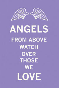 Angels From Above Watch Over Those We Love by The Vintage Collection